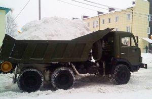 Уборка территории от снега тарифы