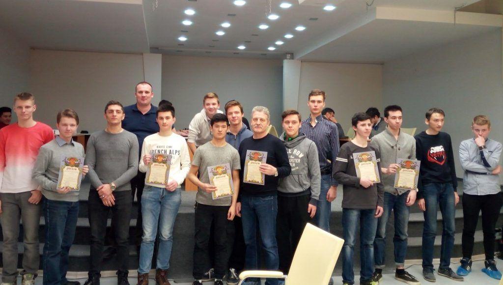 Студенты колледжа «Царицыно» победили в Спартакиаде по шашкам