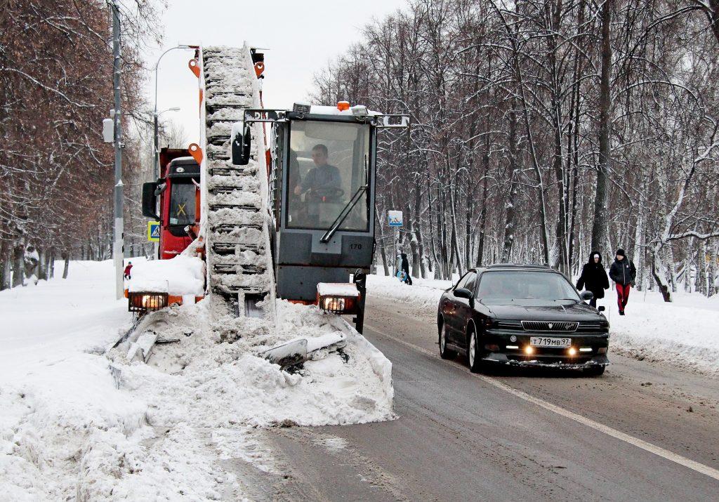 Затрудненное движение зафиксировали в четверг на дорогах Москвы