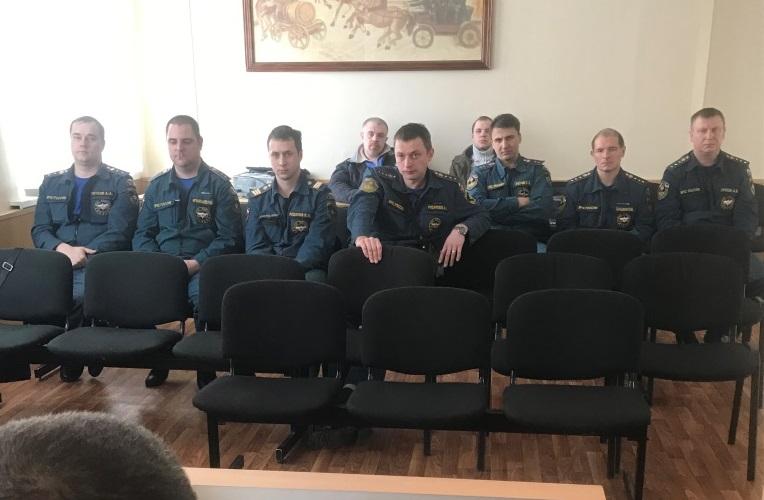 Инспекторы ГИБДД Южного округа провели занятия для пожарных