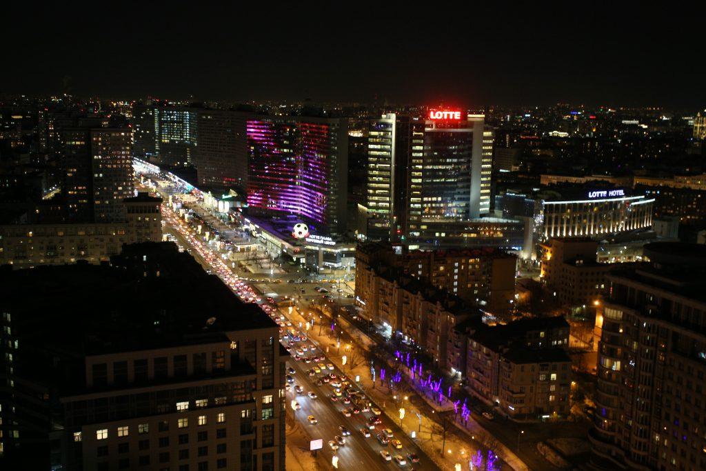 Акция «Час Земли» позволила Москве сэкономить на электроэнергии