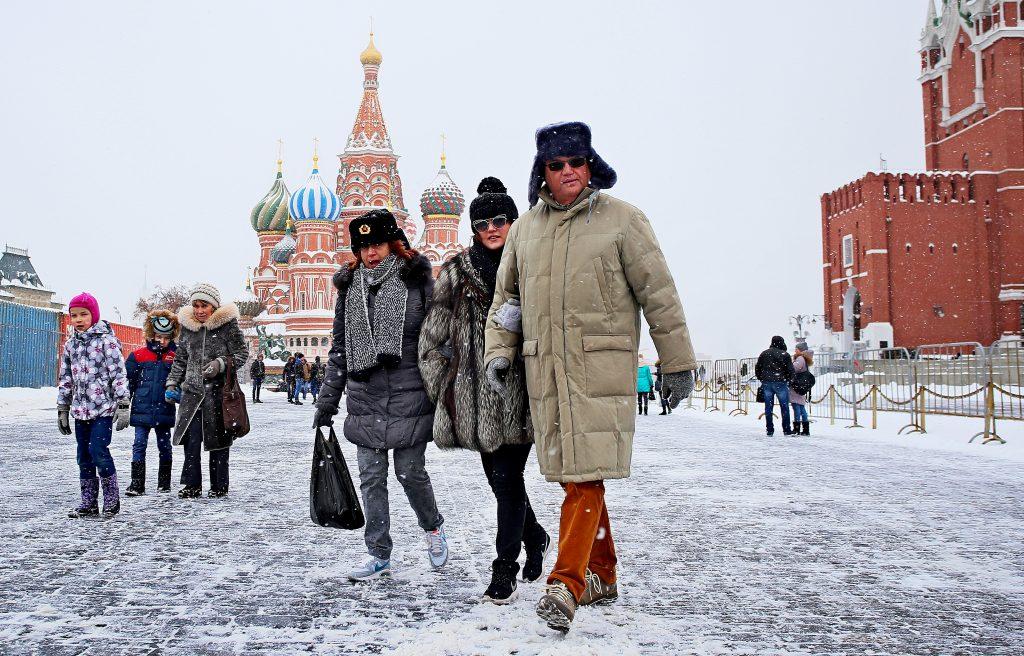 Зима 2017-2018 в Москве попала в тройку самых снежных за 140 лет