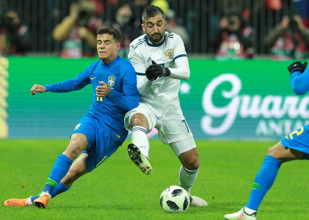 После игры с бразильцами зрители покинули трибуны «Лужников» за 11 минут