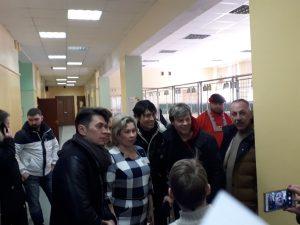 """18 марта 2018 года. Группа """"НА-НА"""" посетила один из избирательных участков в ЮАО"""