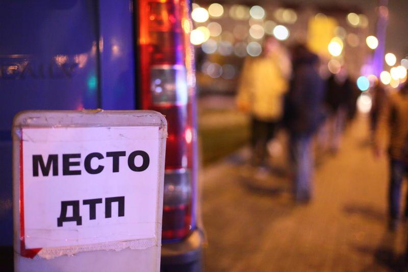 Движение транспорта ограничили из-за аварии на юге Москвы
