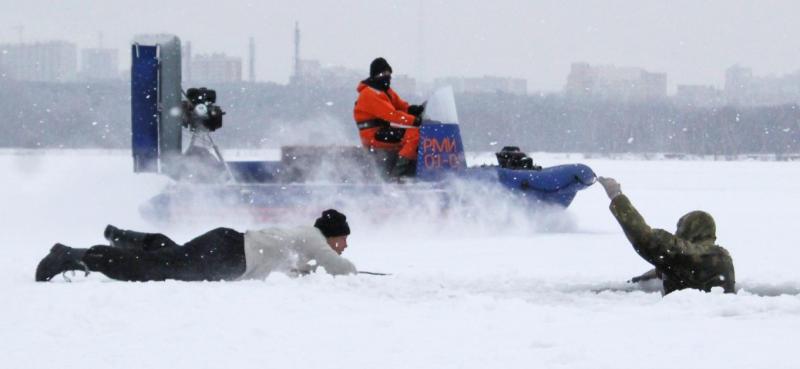 Лед на водоемах начнет таять в конце марта