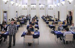 В Москве пройдут финальные соревнования по шахматам среди команд столичных колледжей. Фото: сайт мэра и Правительства Москвы
