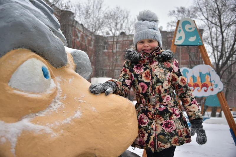 Дворы Бирюлева Западного благоустроили на средства от платных парковок