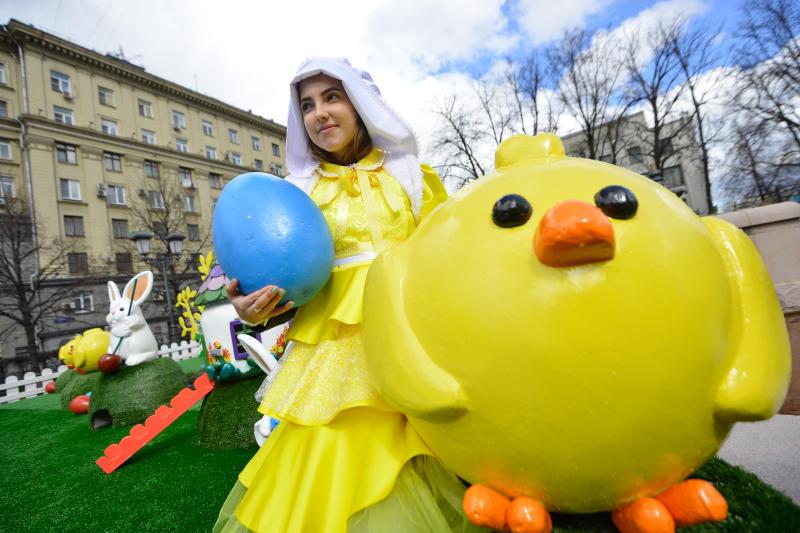 Неменее 150 арт-объектов украсят столицу врамках фестиваля «Пасхальный дар»