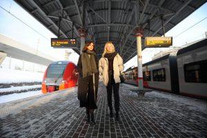 Более 800 навигационных наклеек заменят на платформах МЦК. Фото: Светлана Колоскова, «Вечерняя Москва»