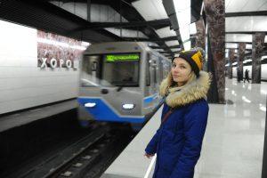 Разгрузились и две станции Московского центрального кольца (МЦК). Фото: Светлана Колоскова