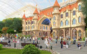 В парке «Остров мечты» поставят самые большие качели в столице. Фото: сайт мэра и Правительства Москвы