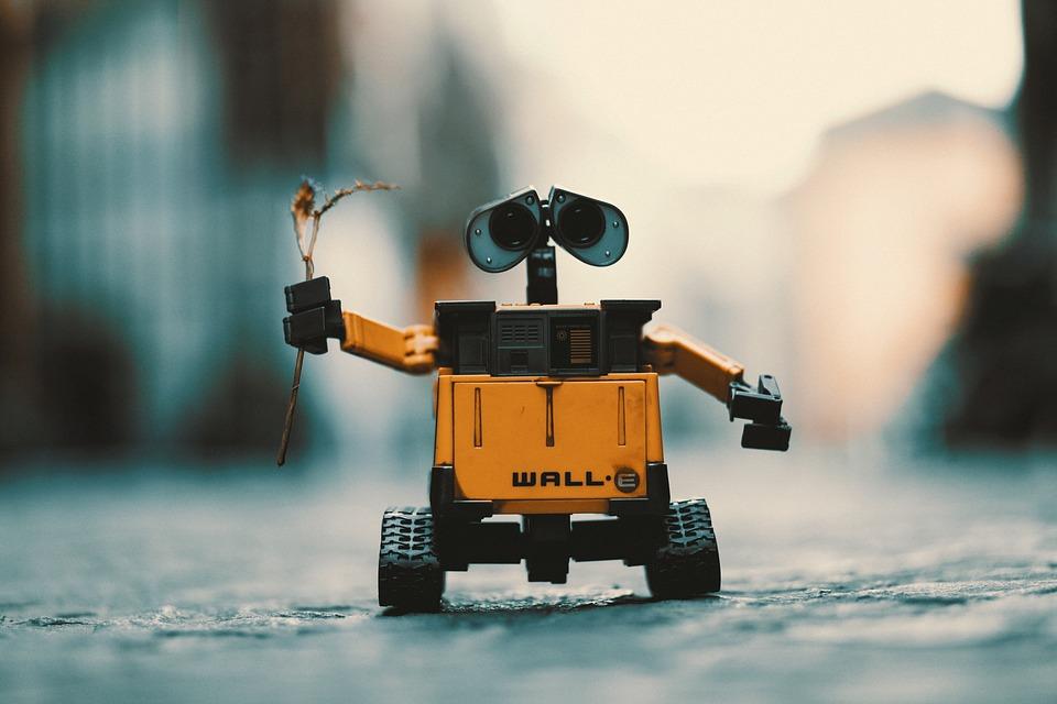 Роботы вышли на поле