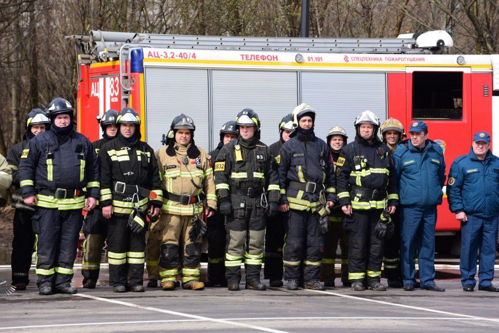 Учения по ликвидации пожара провели на автовокзале «Южные ворота»