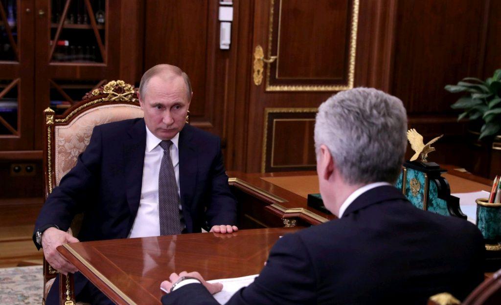 Путин поддержал идею Собянина о создании в Москве инновационного кластера