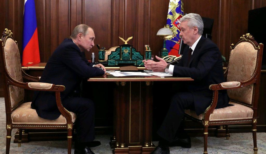 Собянин доложил Владимиру Путину об увеличении экспорта московских предприятий на 30% за 2 года