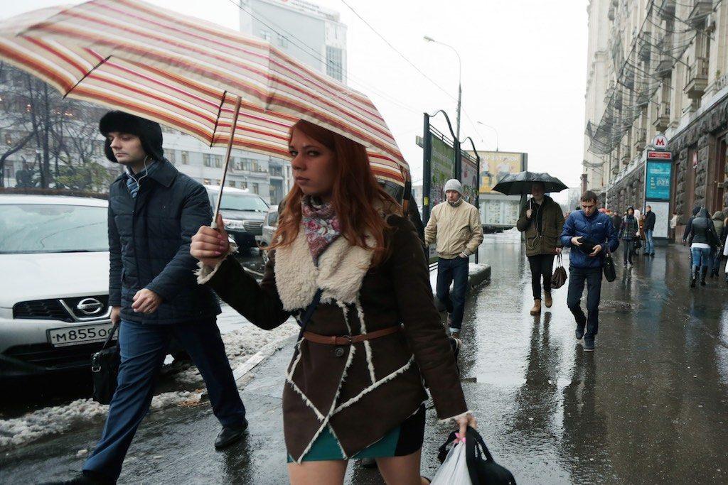 Мокрый снег и дождь ожидаются в Москве
