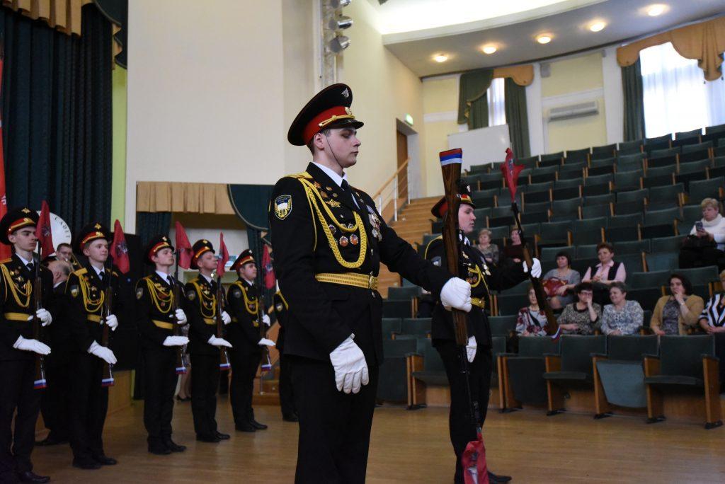 Церемония вручения медалей «100 лет военному комиссариату города Москвы» состоялась в ЮАО