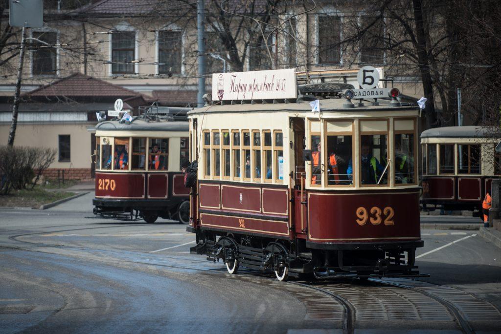 В Москве назвали дату парада трамваев