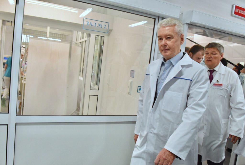 Сергей Собянин навестил в клинике пострадавших отсубботнего урагана