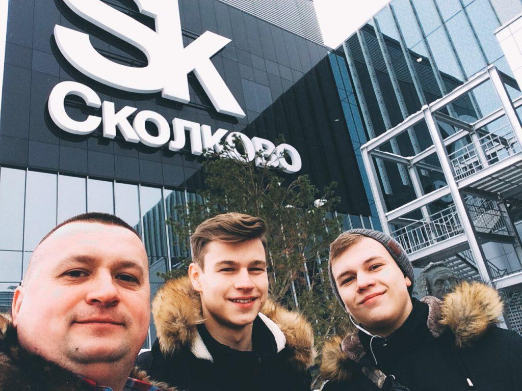 Воспитанники Сергея Епифанцева станут резидентами «Сколково». Фото предоставлено Сергеем Епифанцевым