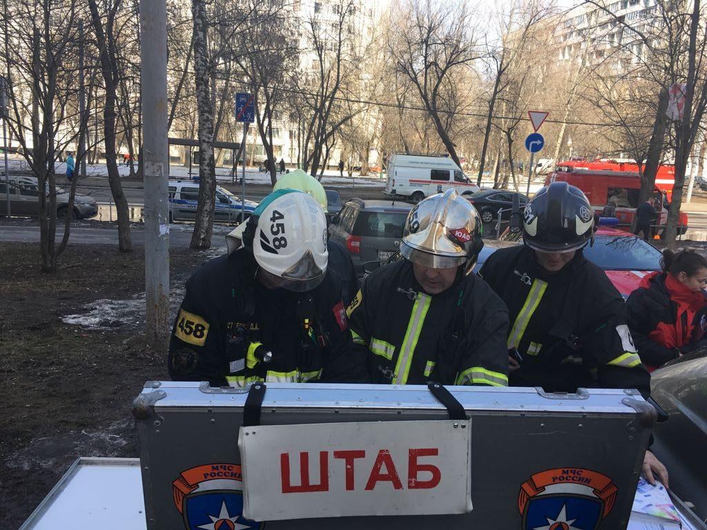 Огнеборцами столицы спасено 55 человек