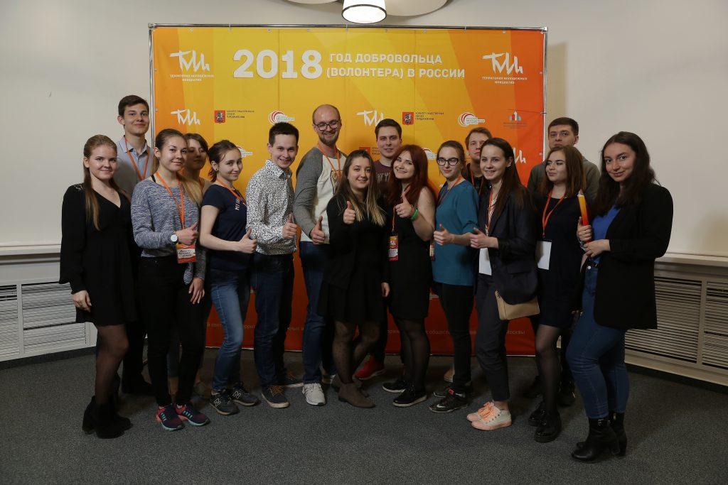 Заявки на участие в семинаре подало более 50-ти представителей студенческих добровольческих объединений. Фото: Ресурсный центр НКО в ЮАО