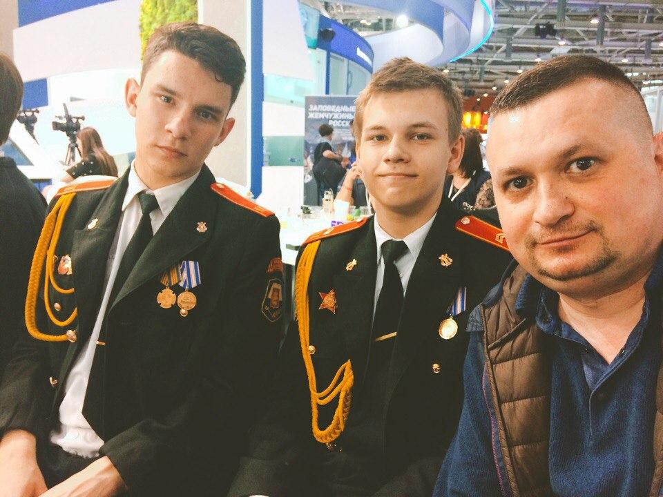 Сергей Епифанцев со своими учениками. Фото предоставлено Сергеем Епифанцевым