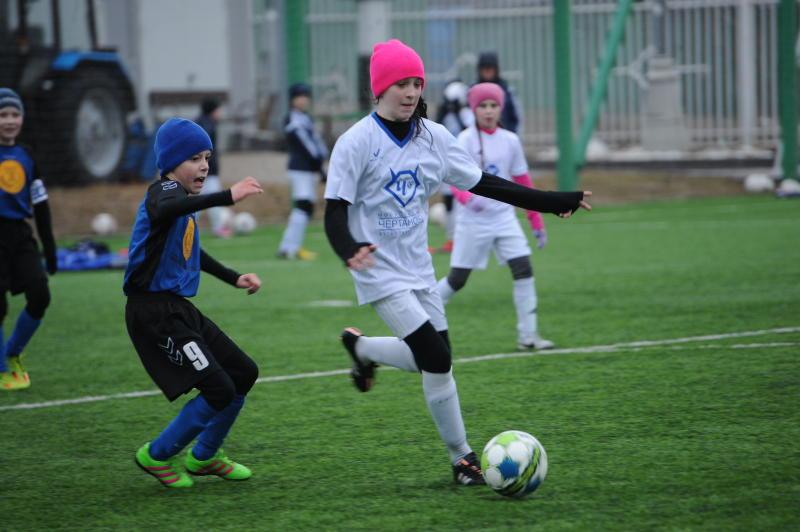 Команда футбольной школы «Чертаново» сыграет в международном турнире в Нижнекамске. Фото: Пелагия Замятина, «Вечерняя Москва»