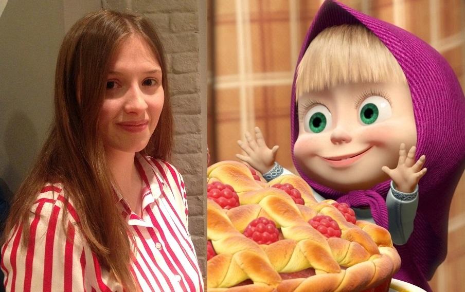 Алина Кукушкина начала озвучивать Машу в шесть лет