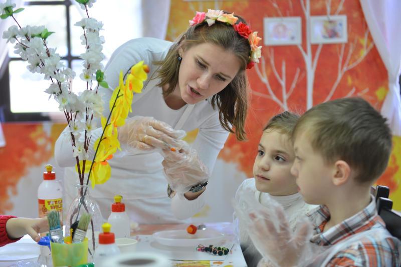 Субботник в «Царицыне» дополнят мастер-классами для детей. Фото: архив, «Вечерняя Москва»