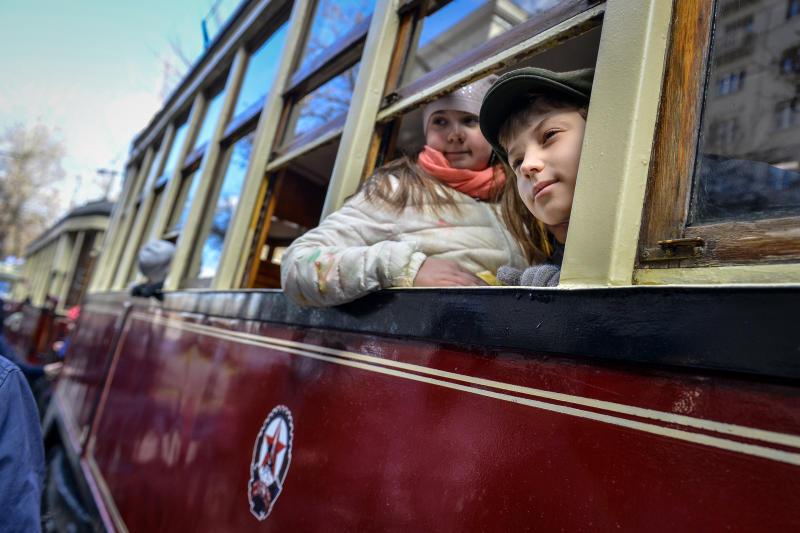 Встолице стартовал парад трамваев
