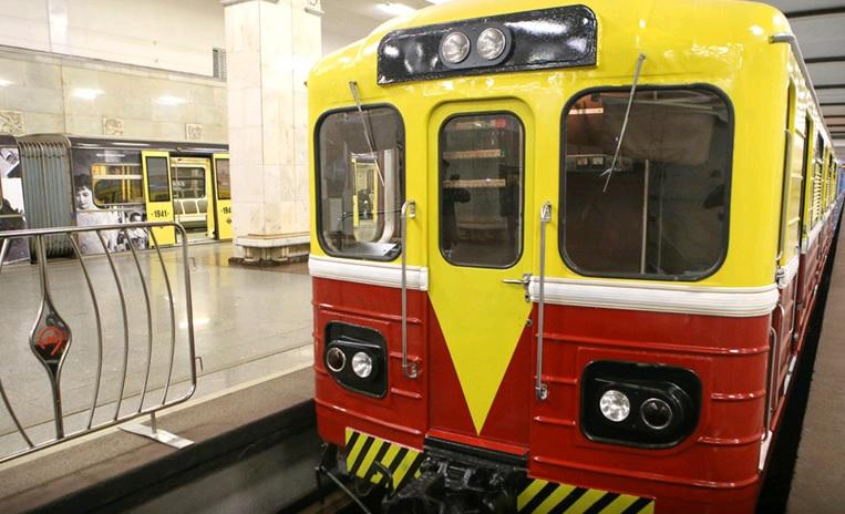Москвичей пригласили на Парад поездов метро