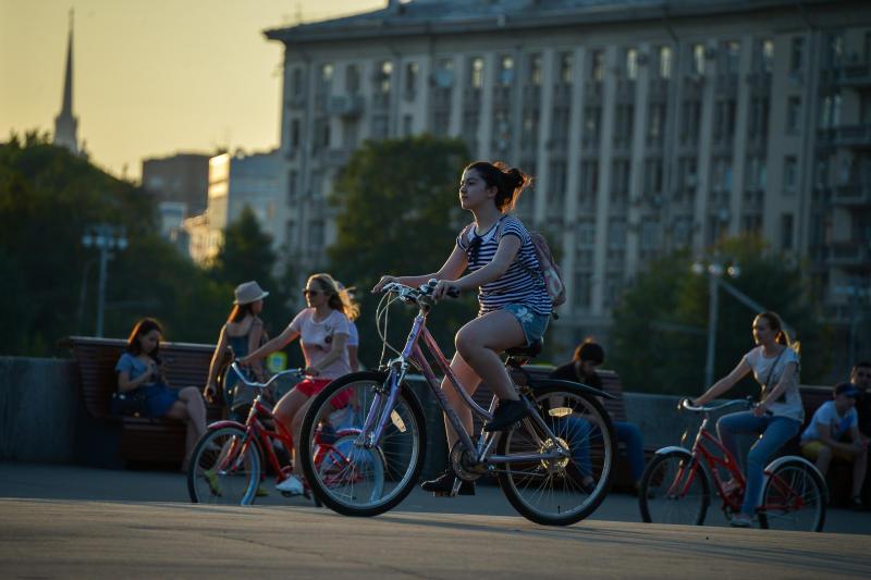 Выходные принесут москвичам теплую погоду без осадков