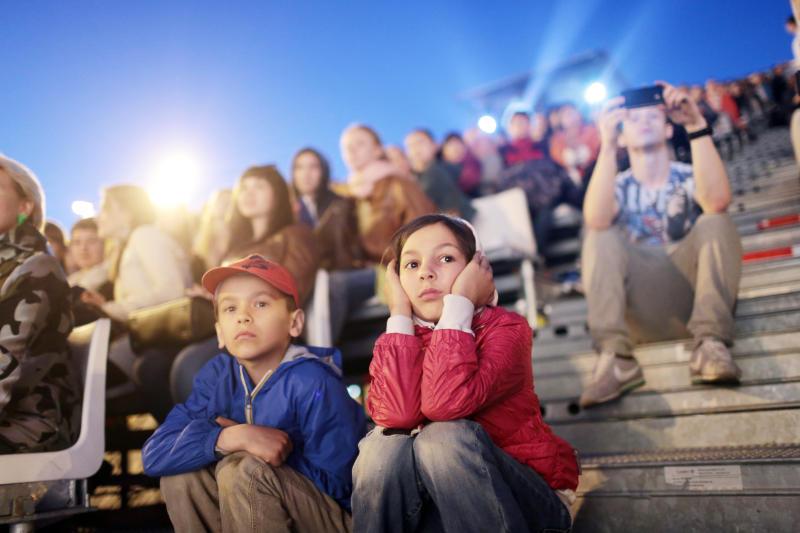 Москвичи смогут бесплатно посмотреть кино под открытым небом