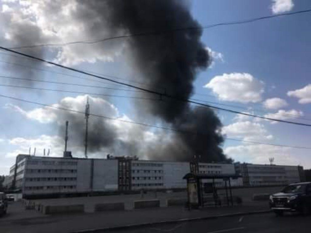 Стали известны подробности пожара на юго-востоке Москвы