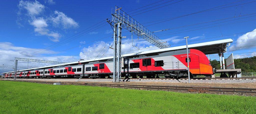 Поезда «Ласточка» на железнодорожном маршруте от центра Москвы до Зеленограда перевезли три миллиона пассажиров с начала года. Фото: mos.ru
