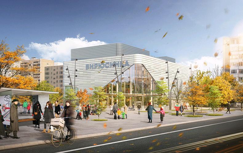 Возвращение «Бирюсинки»: как будет выглядеть кинотеатр после реконструкции