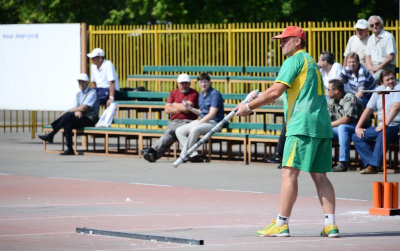 Соревнования по городкам пройдут 19 мая в Центре по городошному спорту на Коломенской. Фото: архив, «Вечерняя Москва»