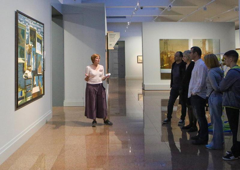 Экскурсию по «Дню и ночи» проведут в галерее «Нагорная»