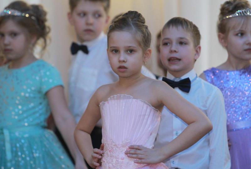 Школьники Даниловского района научатся спортивным бальным танцам. Фото: Наталия Нечаева, «Вечерняя Москва»