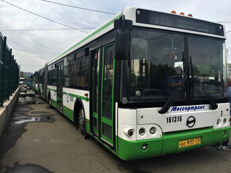 Режим работы автобусов округа изменится в день «Московского велопарада»