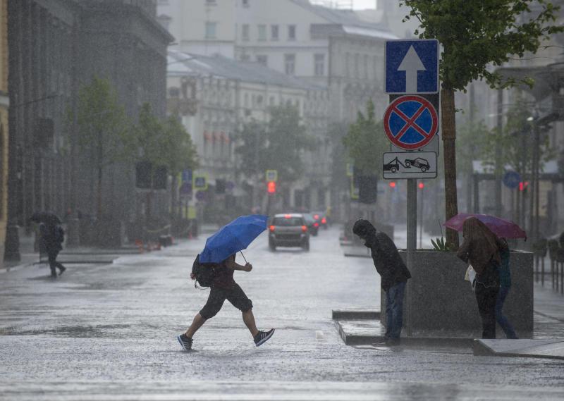 Спасатели предупредили об ухудшении погоды в Москве