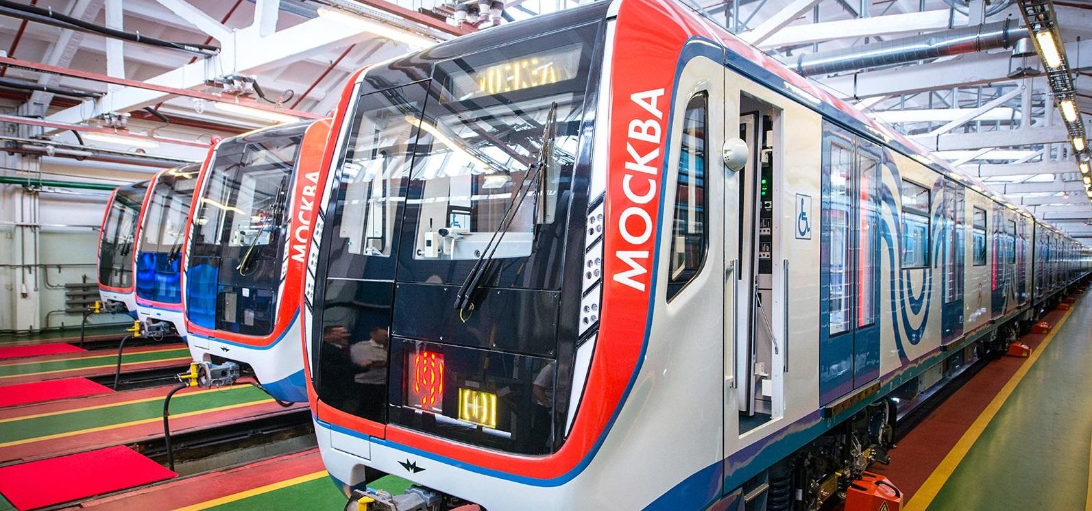 Поезд «Москва» начал курсировать на Калужско-Рижской линии московского метро