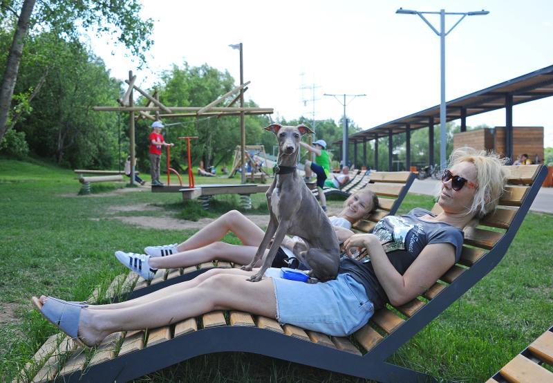 Новые зоны отдыха откроют в Москве к августу