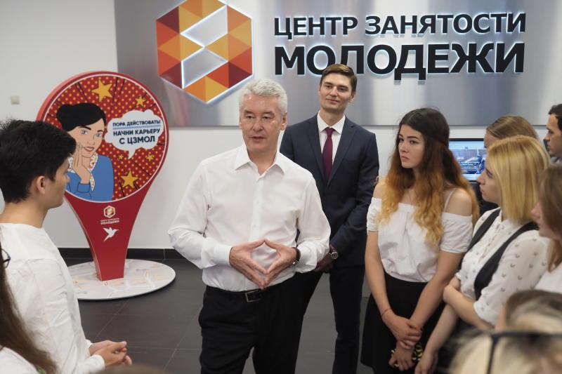 Центр занятости молодежи помог трудоустроить более 11 тысяч москвичей