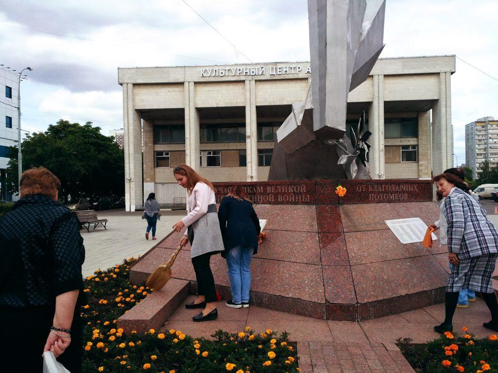Патронатная акция прошла в Орехове-Борисове Южном
