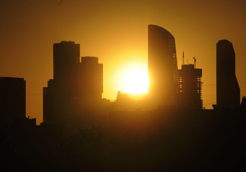 Пик московской жары придется на субботу