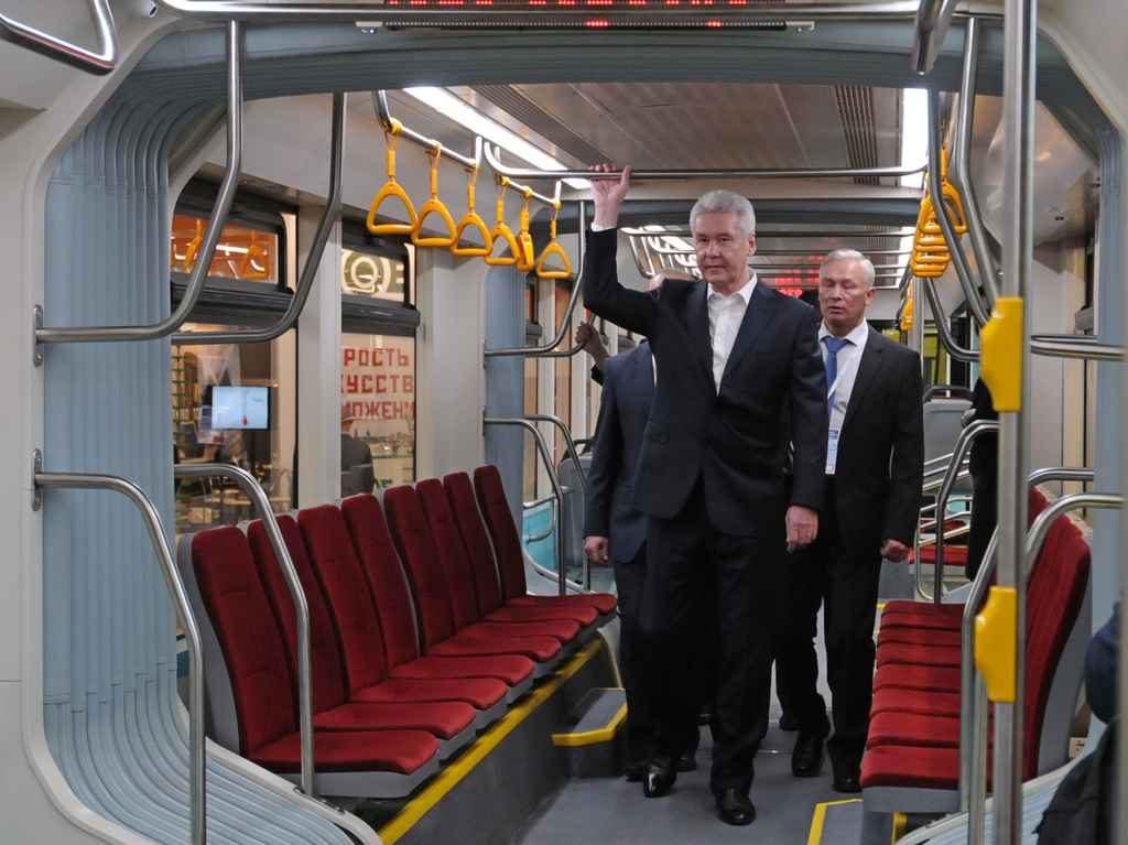 Сергей Собянин сообщил о введении бестурникетного режима в трамваях