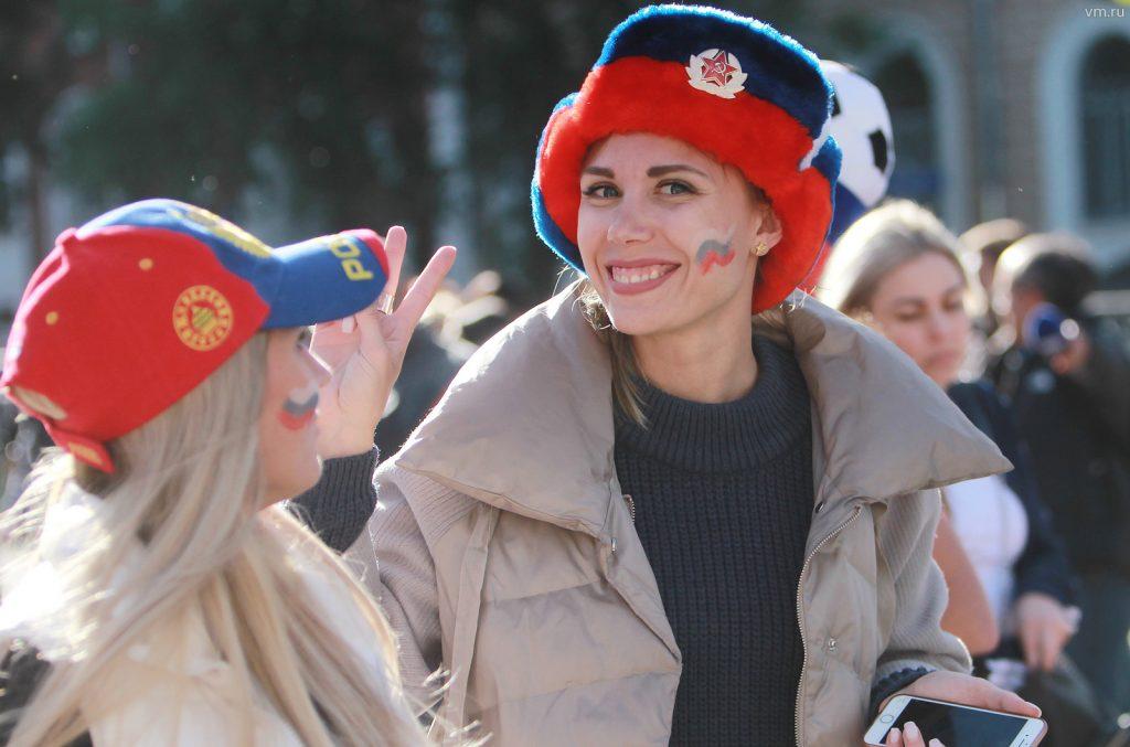 Около девяти тысяч зрителей посетили тренировку сборной России перед ЧМ-2018